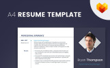 Bryan Thompson - Digital Marketing Manager Resume Template