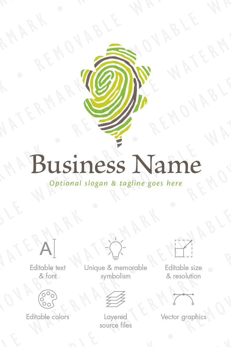 Fingerprint Of Nature Logo Template 66762