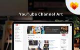 Grill Bar Youtube Channel Art Social Media