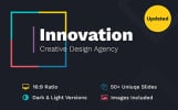 Innovation Creative PPT For Design Agency PowerPoint sablon