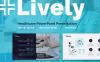 Plantilla PowerPoint para Sitio de Odontología Captura de Pantalla Grande