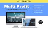 "PowerPoint šablona ""Multi Profit Financial Company Presentation PPT"""