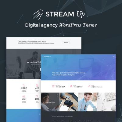 Tema de WordPress #66757 para Sitio de Agencias de marketing