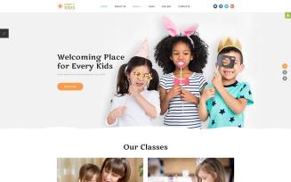 Happy Kids - Kids Center Joomla Template
