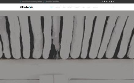 iD Interior - Interior Design HTML5 Website Template