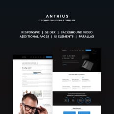327 best joomla business templates template monster antrius business consulting wajeb Images