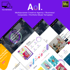 Muse templates adobe muse templates muse themes template monster aol responsive muse theme 66893 pronofoot35fo Image collections