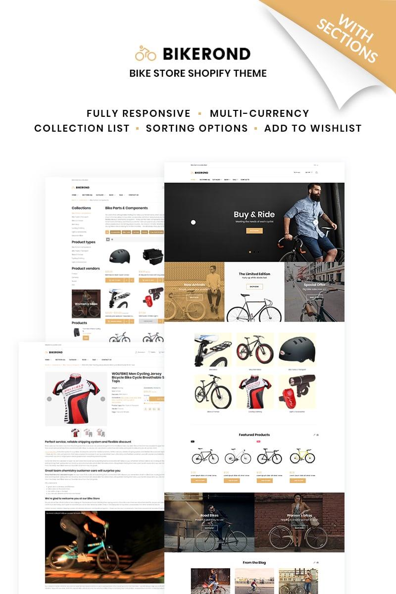 BikeRond - Bike Shop Responsive №66867