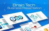 BrainTech PPT Slides For Consulting Business PowerPoint Template