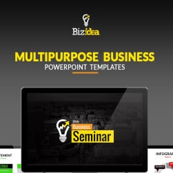 Animated business design powerpoint template 66991 business presentation animated ppt and pptx toneelgroepblik Images