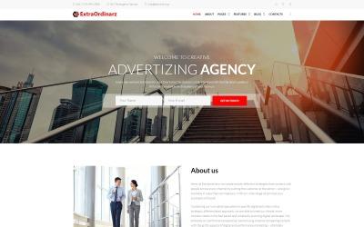 ExtraOrdinarz - motyw WordPress dla strony agencji reklamowej #66888