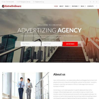 Tema de WordPress #66888 para Sitio de Agencias de marketing