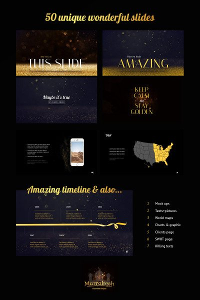 Marakesh PowerPoint Template #66894