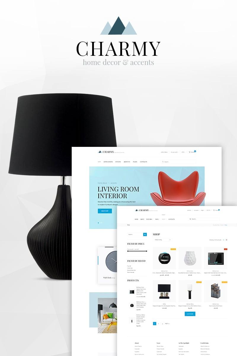 Motyw WooCommerce Charmy - Home Decor #66863
