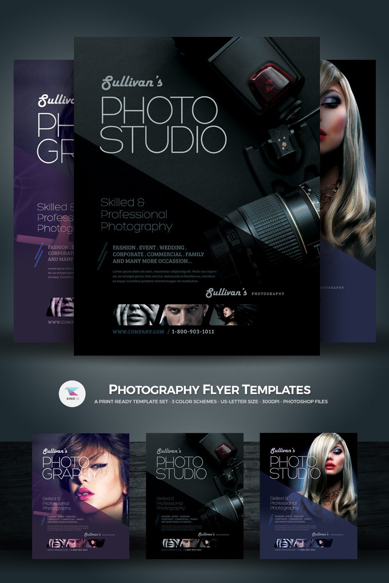 """Photography Flyer"" PSD Template №66858"