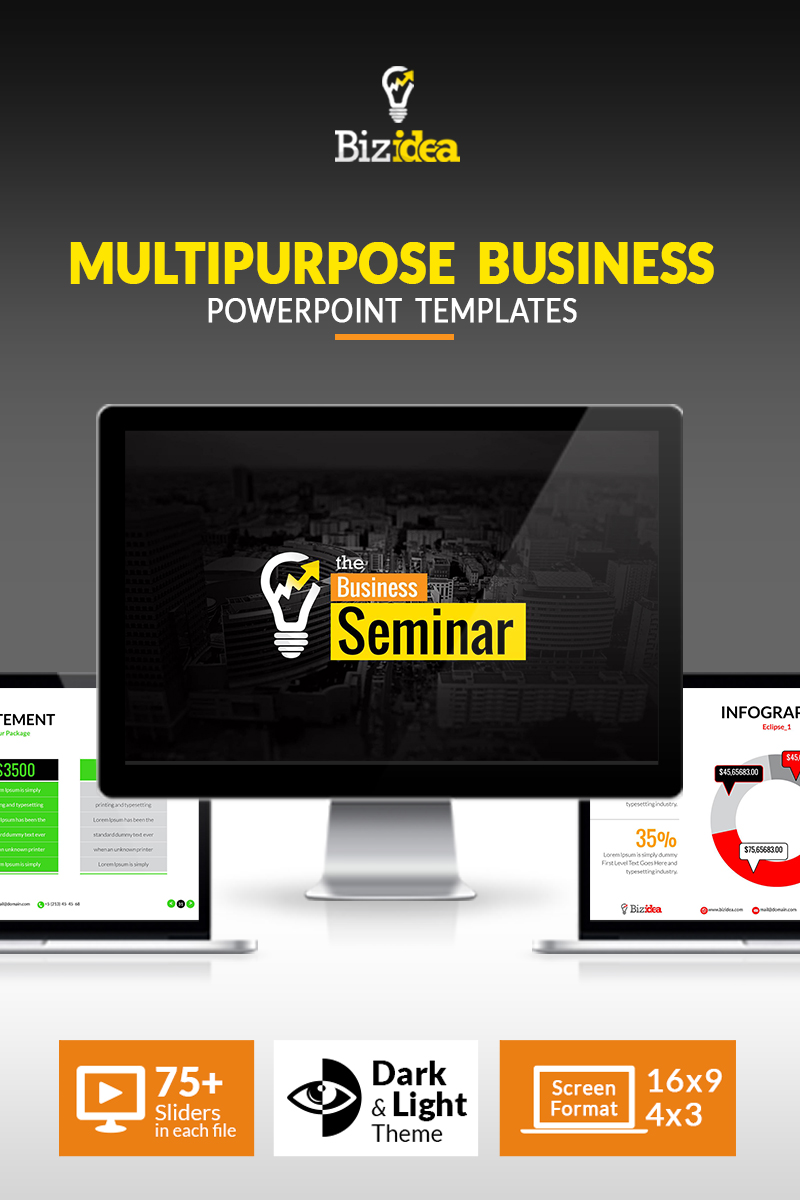 "PowerPoint šablona ""Business Presentation 