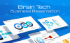 "PowerPoint Vorlage namens ""BrainTech PPT Slides For Consulting Business"" Großer Screenshot"