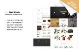 Reszponzív Sport üzlet  Shopify sablon