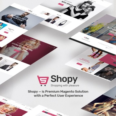 Shopy - fashion Magento Theme #66856