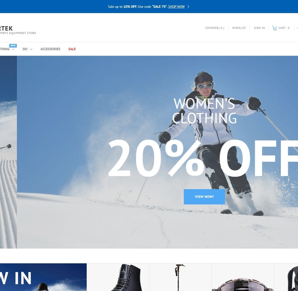 Live Preview For Sportek Winter Sports Equipment Store Prestashop Theme 66844 Searching for the best sports shoes? www templatemonsterpreview com