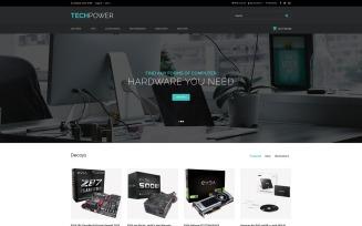 TechPower - Hardware Shop OpenCart Template