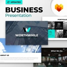 worthwhile consulting ppt design microsoft powerpoint template