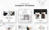 """""""Triangles - Instagram Stories Pack"""" 奖金社交媒体"""
