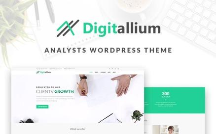 Digitalium - Marketing Agency Elementor WordPress Theme