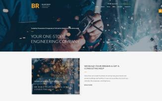 BR - Industrial Company Professional Parallax Joomla Template