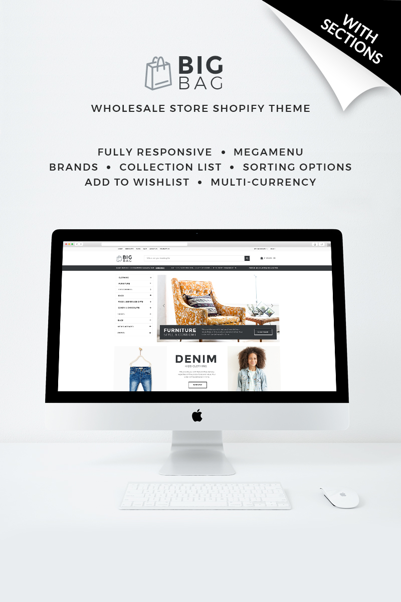 Big Bag - Wholesale Store Shopify Theme - screenshot