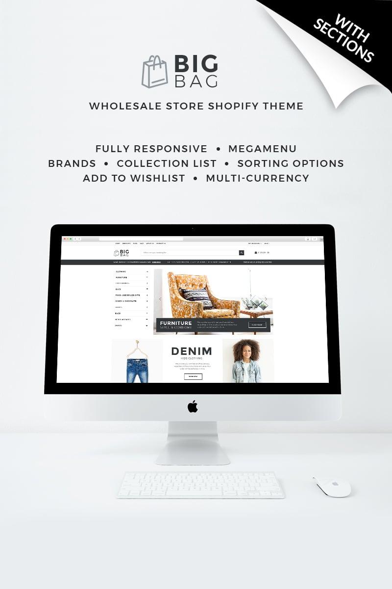 Big Bag - Wholesale Store Shopify Theme