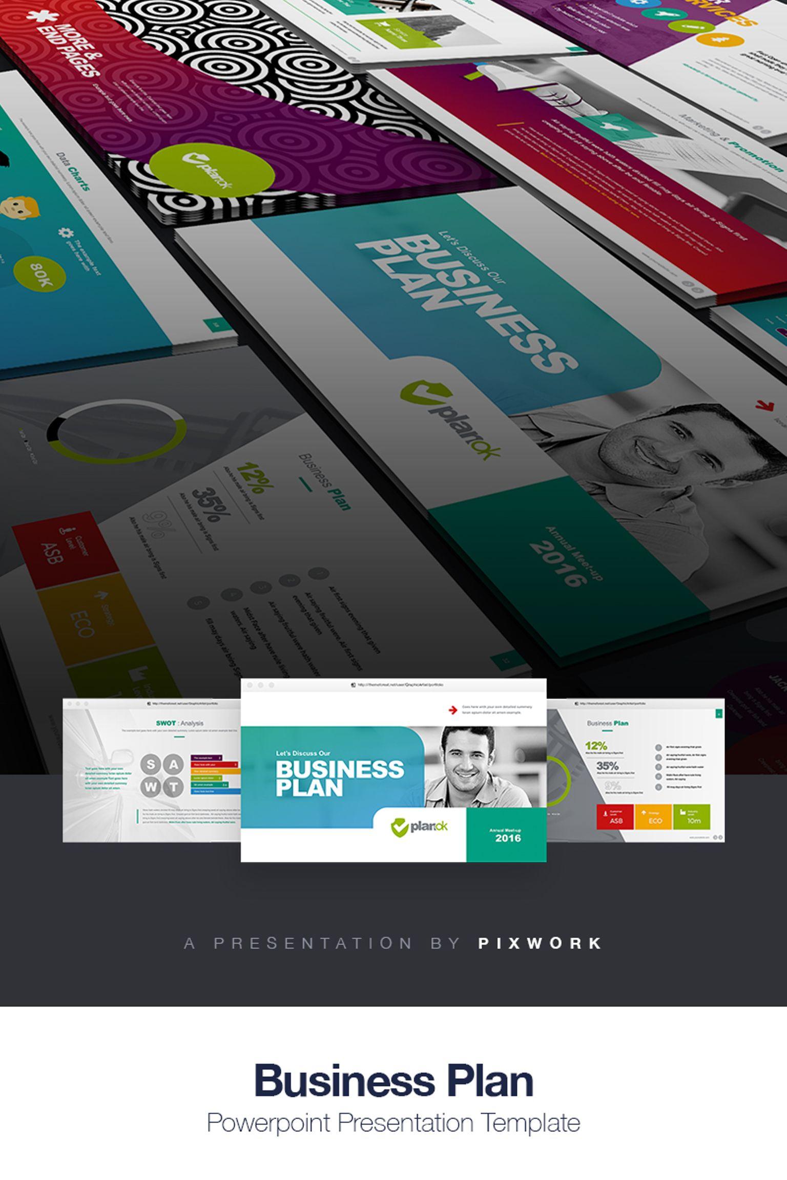 Business Plan PowerPointmall #66997