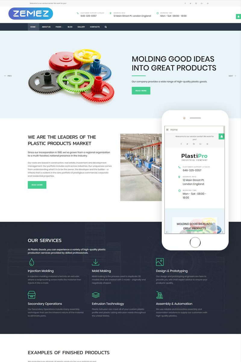 PlastiPro - Industrial Responsive №66905