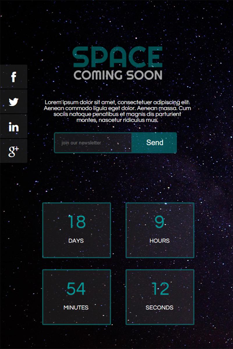 Space Coming Soon Páginas Especiais №66945