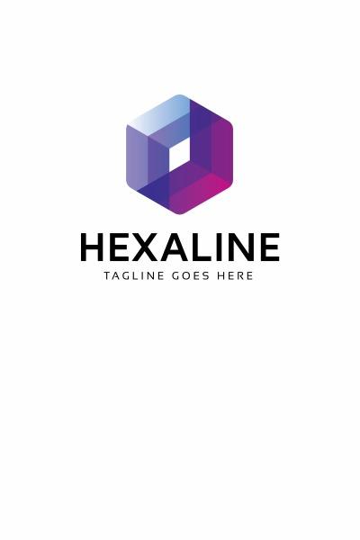 Szablon Logo Hexaline #66983 #66983