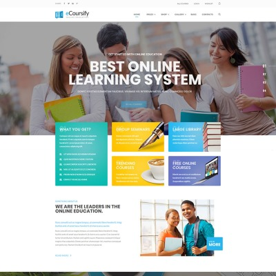 Tema de WordPress #66906 para Sitio de Educación