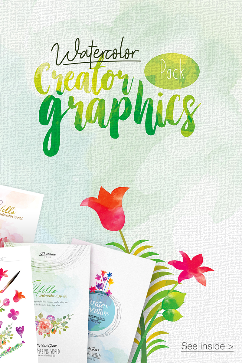 WaterColor Creator Graphics Illustration - screenshot