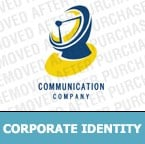 Communications Corporate Identity Template 6753