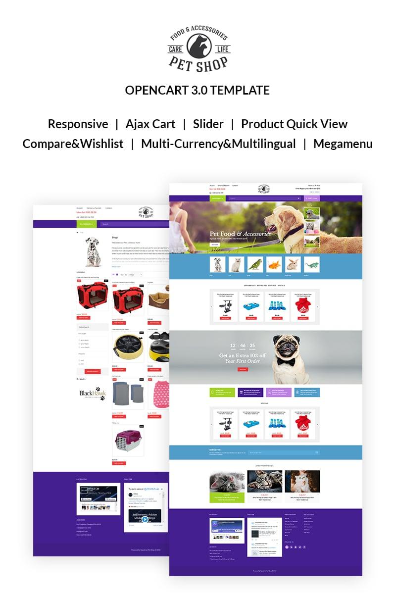 Website Design 67038 Pet Opencart Online Custom Website Design Pet