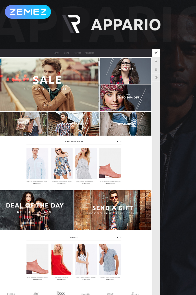 Appario PrestaShop Theme