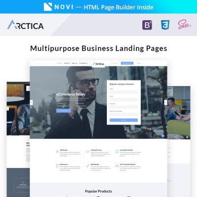 Landing Page Templates Responsive Landing Pages - Website landing page templates