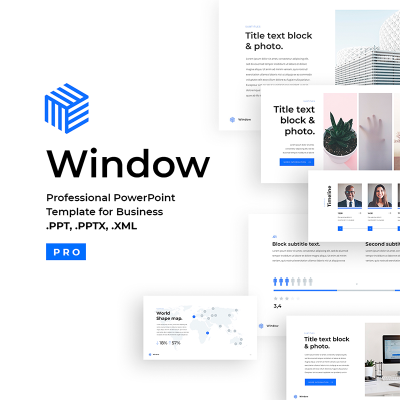 Business 2018 PowerPoint Template #67028
