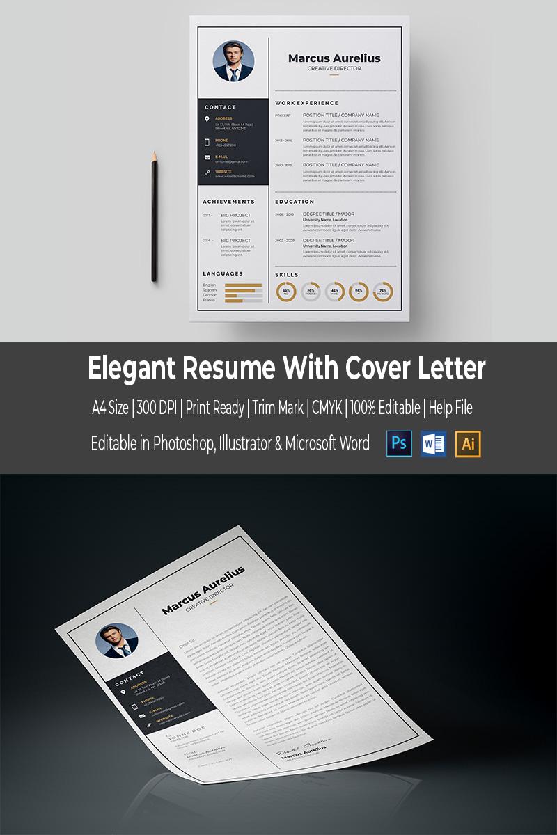 Elegant Resume Template #67033