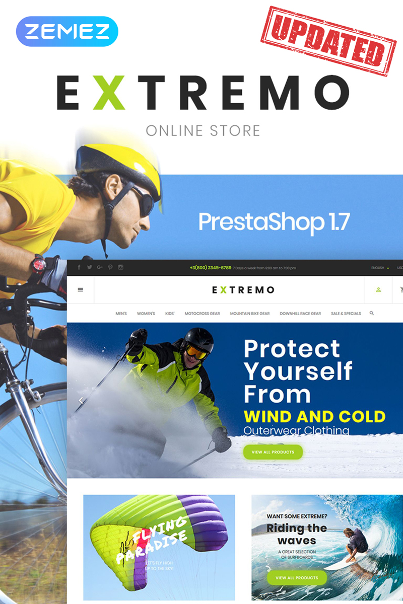 Extremo PrestaShop Theme