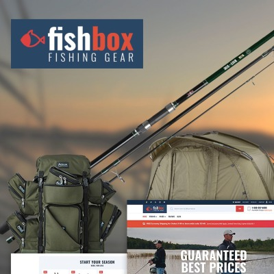 Fishing WooCommerce Sablon
