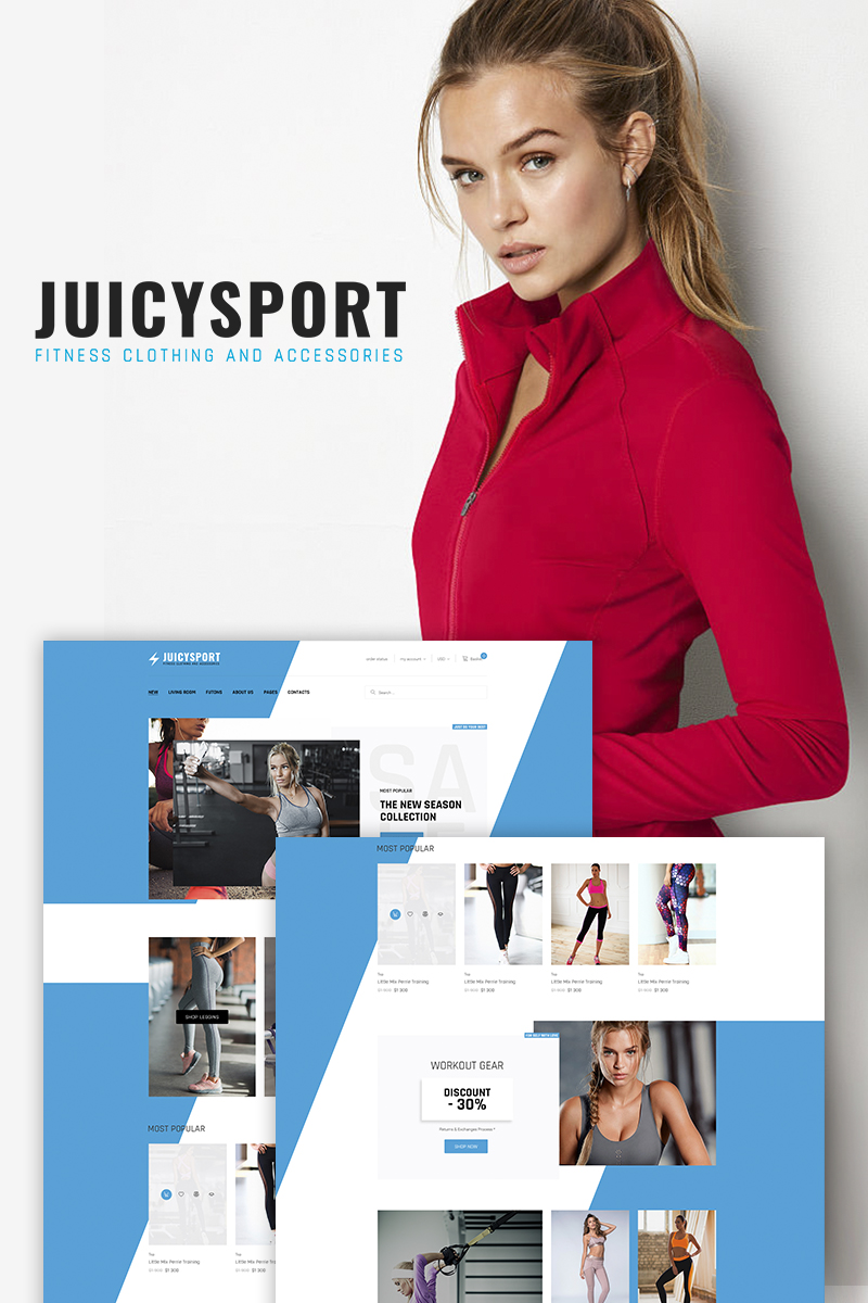 JuicySport - Sport Accessories Shop WooCommerce Theme