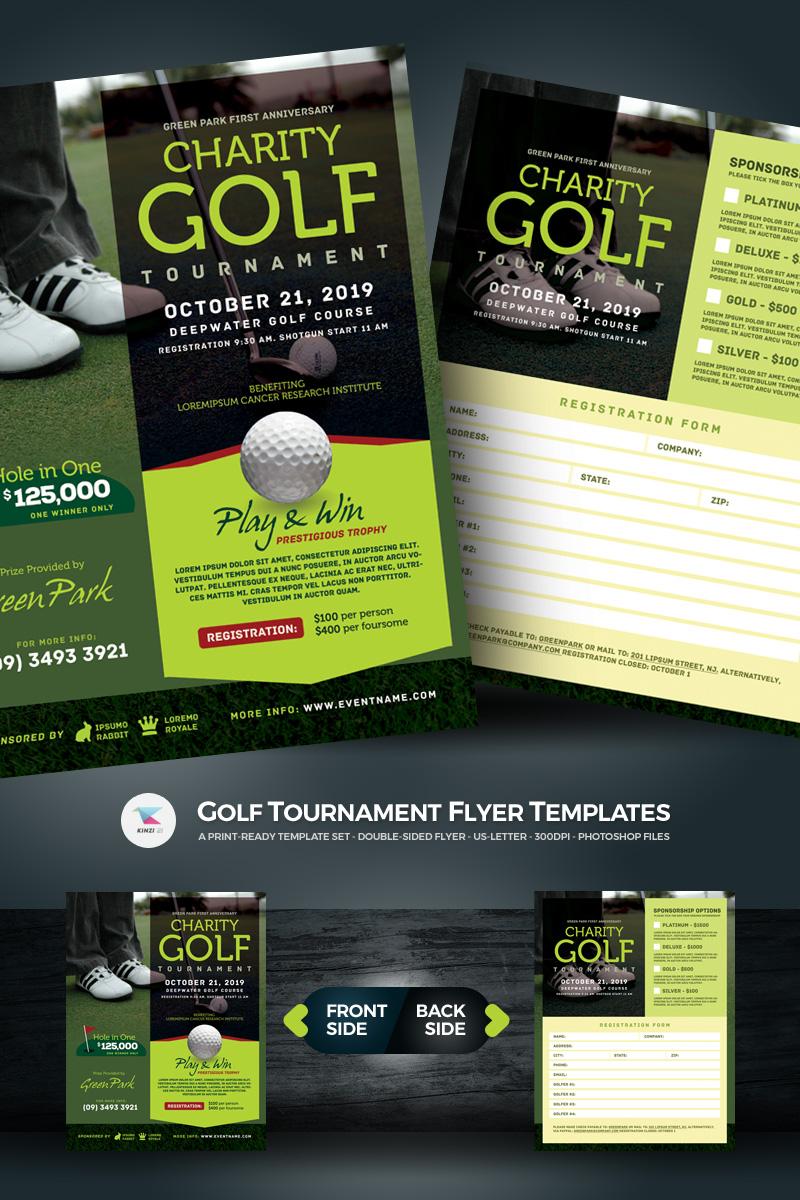 PSD Vorlage #67021 für Golf