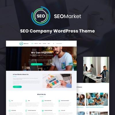 Tema de WordPress #67045 para Sitio de Agencias de marketing