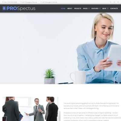 Plantillas WordPress para Sitios de Agencias de Publicidad