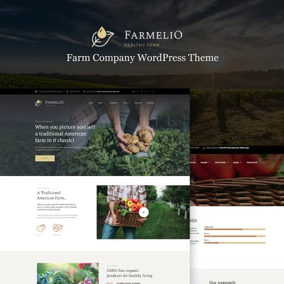 Temas WordPress para Sitios de Agricultura